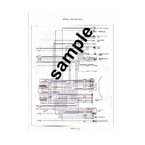 1969 PLYMOUTH BELVEDERE, ROAD RUNNER, SATELLITE Wiring