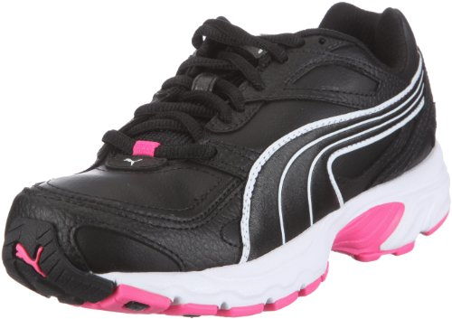 Puma Axis XT Wn's 185051, Damen, Sportschuhe - Fitness, Schwarz (black-white-fluo pink 03), EU 38.5 (UK 5.5) (US 8)