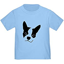 CafePress - Boston Terrier - Cute Toddler T-Shirt, 100% Cotton