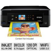 Epson Expression Home XP-400 Wireless All-in-One Color Inkjet Printer, Copier, Scanner. Prints from Tablet/Smartphone. AirPrint Compatible