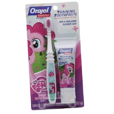 MY LITTLE PONY Toddler Training Toothpaste - Pinkie Fruity