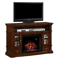 Amazon.com - Belmont 60-inch Electric Fireplace Media ...