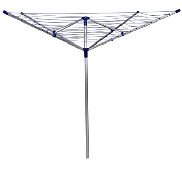 Outsunny Outdoor Deluxe Rotary Clothesline Clothes Dryer