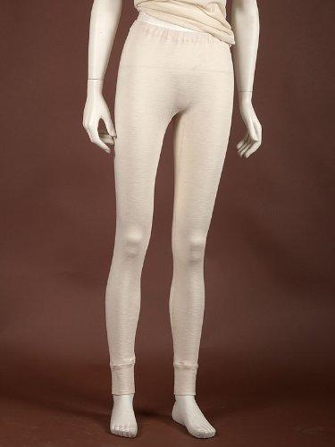 Damen lange Unterhose, Wolle Seide, Gr. 38-48
