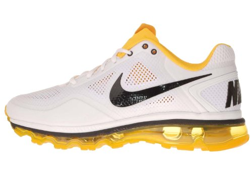 Buy Mens Nike Air Trainer 1.3 Max Breath Running Shoes White / Black / Varsity Maize Size 10.5