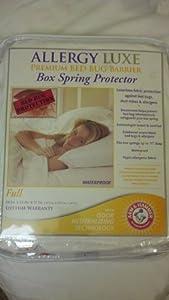 Amazon.com - Allergy Luxe Premium Bed Bug Barrier Box ...