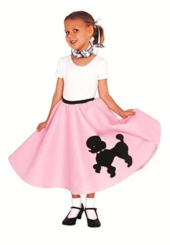 Poodle Skirt with Musical Note printed Scarf