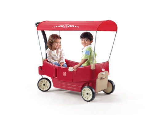 41u2otEZVWL - Build a homemade kids pull wagon: Radio-Flyer style with better steering!