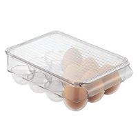 Egg Holder Refrigerator Storage Lid Fridge Freezer ...