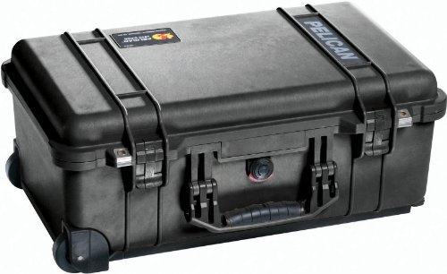 Pelican 1510-000-110 Carry On Case with Pick 'N' Pluck Foam (Black)