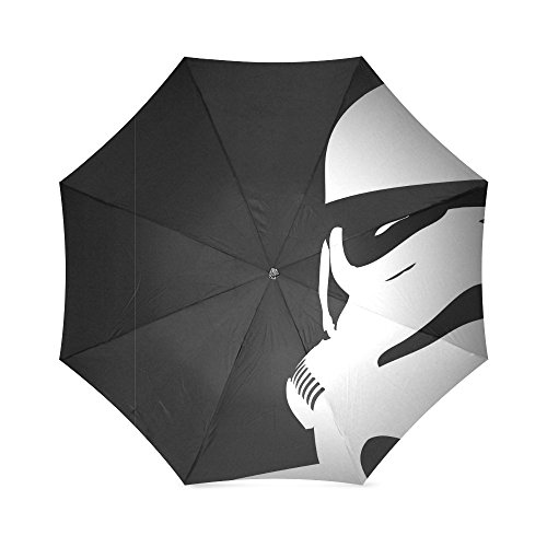 Star Wars Stormtroopers Foldable Rain Umbrella Wind Resistant Windproof Floding Travel Umbrella
