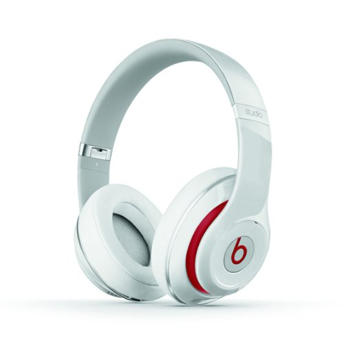 【国内正規品】Beats by Dr.Dre Studio V2 密閉型ノイズキャンセリングヘッドホン ホワイト BT OV STUDIO V2 WHT