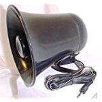 PA Horn SPEAKER w/ Plug & Wire – 5 inch for CB / Ham Radio for $19.95 + Shipping