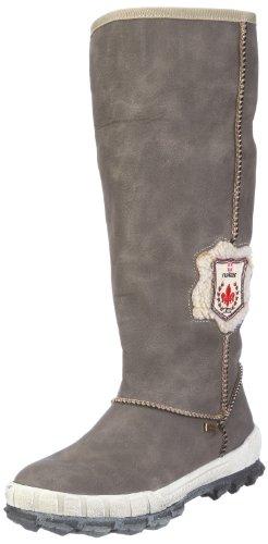 Rieker Fenja Y2453-42, Damen Stiefel, Braun (dust/beige 42), EU 38