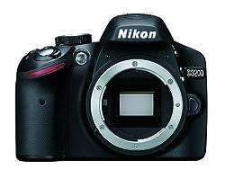 Nikon デジタル一眼レフカメラ D3200 ボディー ブラック D3200BK