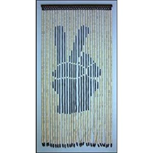 Peace Fingers ~ Beaded Door Curtain