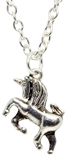 Bluebubble-I-BELIEVE-Silver-Unicorn-Necklace-With-FREE-Gift-Box
