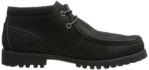 Timberland Men S Oakwell Moc Toe Chukka Chukka Boot Black