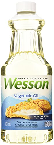Wesson Pure Vegetable Oil 48oz Food Beverages Tobacco