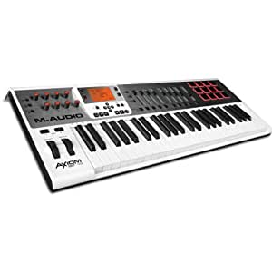 Amazon.com: M-Audio Axiom AIR 49 49-Key USB MIDI Keyboard