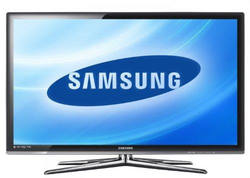 Samsung UE46C7700WSXZG 117 cm (46 Zoll) 16:9 Full-HD 200Hz 3D LED Backlight-Fernseher mit integriertem DVB-T, DVB-C, DVB-S2 Tuner schwarz