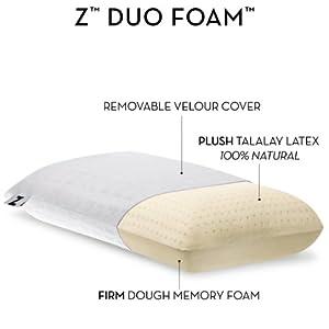 latex foam pillows king