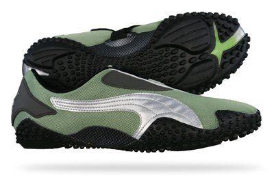 New Puma Mostro Mesh Mens Schuhe Sneaker - Grün - SIZE EU 40