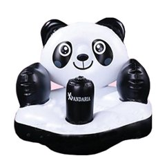 Inflatable Chair Stool Lazy Boy Office Parts Best Price For Baby Safe Portable Kids Sofa Learn Training Seat Panda