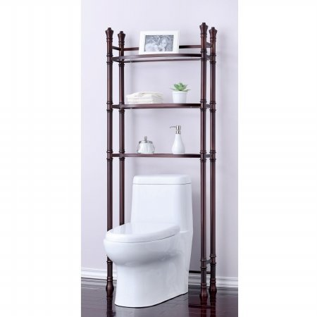 Best Living Monaco Bathroom Space Saver Etagere Shelf, Oil Rubbed Bronze