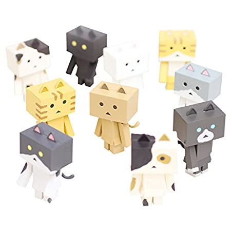 ニャンボー figure collection(1BOX:10個入セット) ノンスケール ABS製 塗装済み可動フィギュア