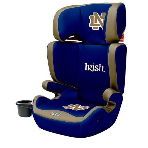 notre dame chair wooden legs high back booster premium college fighting irish baby