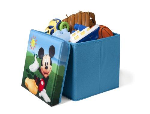 Mickey Mouse faltbarer Sitzhocker (Blau)