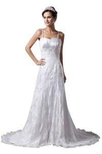 herafa Wedding Dress Elegant NO.w35158: Amazon Fashion