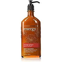 Bath and Body Works Aromatherapy Orange Ginger Gift Set Includes Orange Ginger Energy Body Lotion and Body Wash