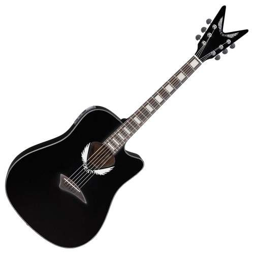 best buy dean tradition acoustic electric cutaway guitar with v headstock tuner preamp classic. Black Bedroom Furniture Sets. Home Design Ideas
