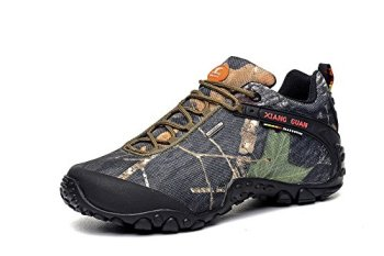 Xiangguan Men's Camouflage Waterproof Hiking Boot