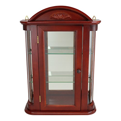Best Wall Mounted Curio Cabinets  Best Rated Wall Mounted