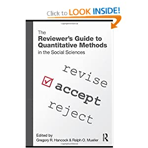 The Reviewer's Guide to Quantitative Methods in the Social
