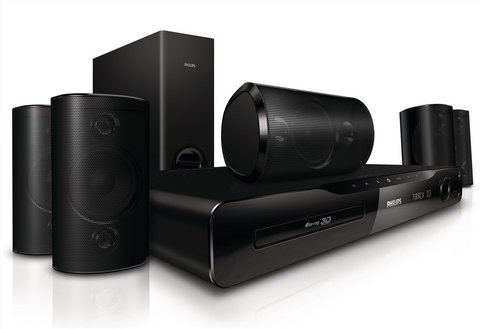 PHILIPS HTS4562 3D HEIMKINO-SYSTEM