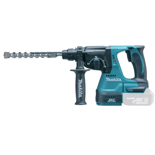 41w75fMq32L - BEST BUY #1 Makita DHR242Z 18 V 24 mm Cordless Li-ion SDS Plus Rotary Hammer Drill