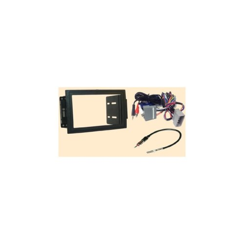 small resolution of radio stereo install double din dash kit steering control wiring canbus wire harness