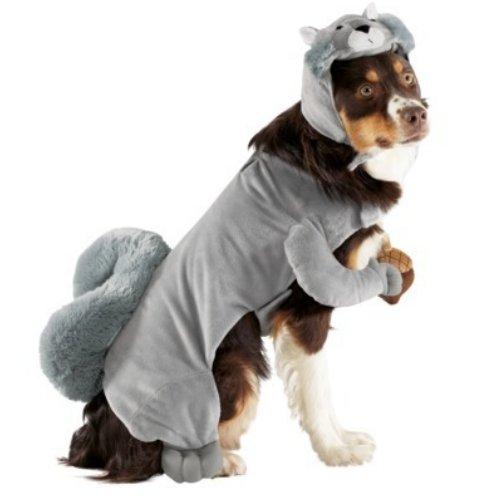: Disguise Dog Squirrel Costume Plush Pet Size Large 25