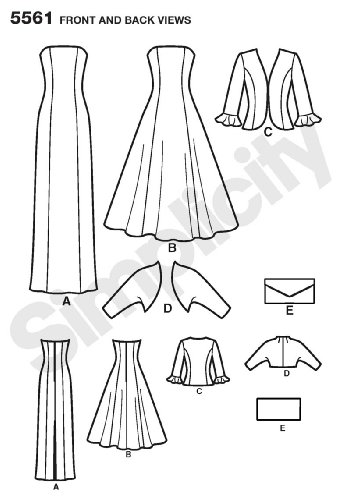 Simplicity Sewing Pattern 5561 Miss Petite Special