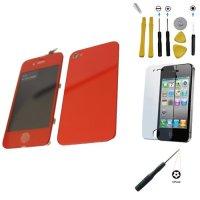 YAGadget Verizon iPhone 4 CDMA Digitizer+LCD Assembly RED ...