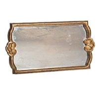Amazon.com: Abigails Rectangle Mirror Decorative Tray ...
