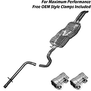Amazon.com: 1999-2004 VW Jetta TDI 1.9L muffler resonator