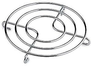 Grunwerg Chrome Plated Round Wire Trivet (Large): Amazon