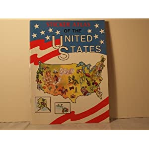 Sticker Atlas of The United States