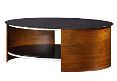 Amazon Oval Glass Coffee Table Home Kitchen
