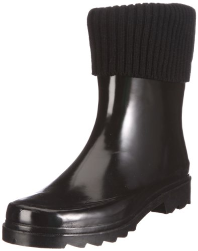Be Only Demi Botte Bootsocks Noir, Damen Stiefel, Schwarz (Black), EU 40